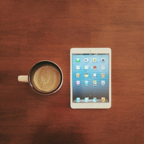 iPad-and-Coffee